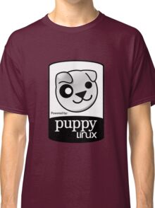 Powered by Puppy ! Classic T-Shirt
