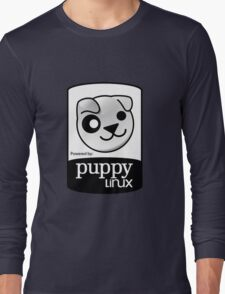 Powered by Puppy ! Long Sleeve T-Shirt