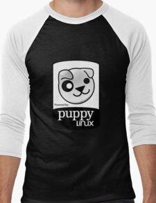 Powered by Puppy ! Men's Baseball ¾ T-Shirt