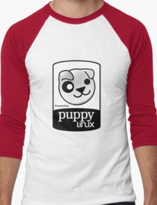 Powered by Puppy ! Men's Baseball ¾ T-Shirt