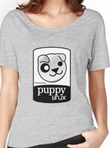Powered by Puppy ! Women's Relaxed Fit T-Shirt