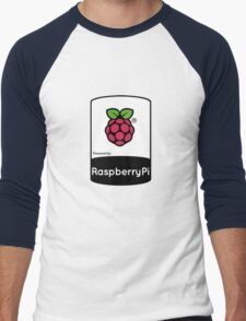 Powered by Raspberry ! Men's Baseball ¾ T-Shirt