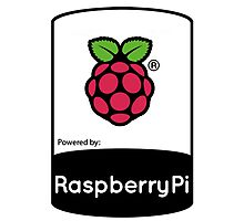 Powered by Raspberry ! Photographic Print