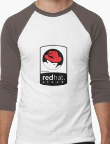 Powered by REDhat ! Men's Baseball ¾ T-Shirt