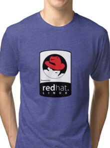Powered by REDhat ! Tri-blend T-Shirt