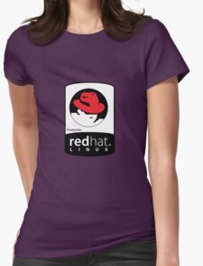 Powered by REDhat ! Womens Fitted T-Shirt