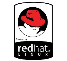 Powered by REDhat ! Photographic Print