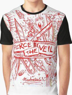 PIERCE THE VEIL MISADVENTURES WHITE 2016 Graphic T-Shirt