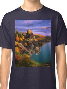 Baycal Lake Landscape Classic T-Shirt