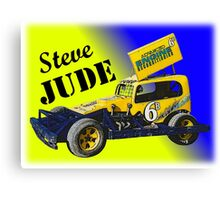 new zealand speedway 6b steve jude superstock Canvas Print
