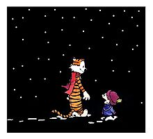 Calvin And Hobbes Adventure Photographic Print