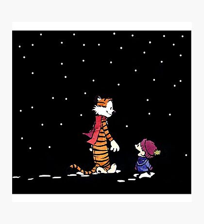 Calvin And Hobbes Adventure Photographic Print