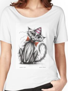 Charlie cat Women's Relaxed Fit T-Shirt