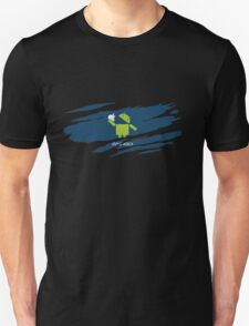 ANDROID EATS APPLE ! Unisex T-Shirt