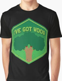 I've got WOOD (distressed version) Graphic T-Shirt