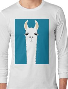 LLAMA PORTRAIT #10 Long Sleeve T-Shirt
