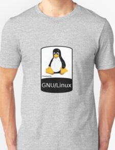 Powered by GNU/Linux ! Unisex T-Shirt