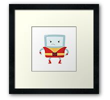 Beemo/Colossus Crossover Framed Print