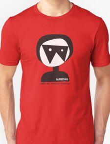 Wandaa: Women & Animation Australia - B&W Unisex T-Shirt
