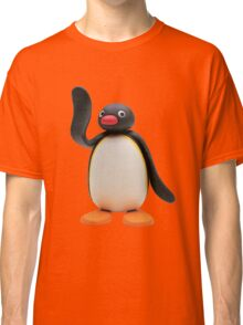 Pingu Waving Design Classic T-Shirt