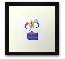 Ice King/Magneto Framed Print