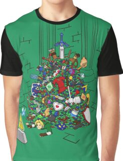 Link's Real Inventory Graphic T-Shirt