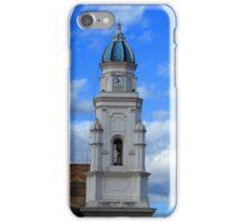 Church Tower in Quinche iPhone Case/Skin