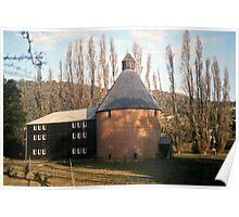 Oast House, New Norfolk, Tasmania—KODACHROME 64 Poster