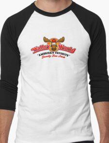 WALLEY WORLD - NATIONAL LAMPOONS VACATION (1) Men's Baseball ¾ T-Shirt