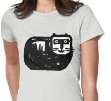 Dicke Katze Womens Fitted T-Shirt