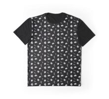 Lady Bug Design Black Graphic T-Shirt