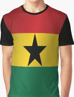 Ghana flag Graphic T-Shirt