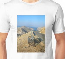 seat for tired travelers Unisex T-Shirt