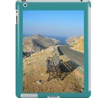 seat for tired travelers iPad Case/Skin