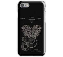 Harley Davidson Engine Patent 1923 iPhone Case/Skin