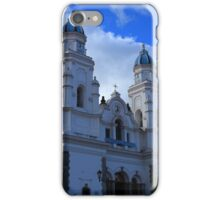 Facade of the Basilica in Quinche iPhone Case/Skin