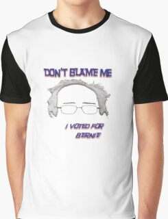 I Voted For Bernie Graphic T-Shirt