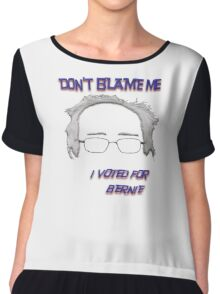 I Voted For Bernie Chiffon Top