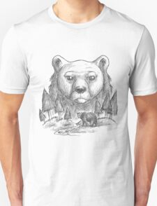 Grizzly Bear Sketch T-Shirt