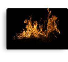 Fierce Flame Canvas Print