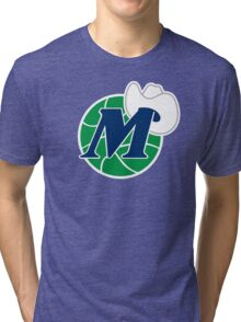 DALLAS MAVERICKS BASKETBALL Tri-blend T-Shirt