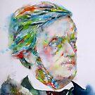RICHARD WAGNER - watercolor portrait.3 by lautir