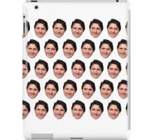 Justin Trudeau face  iPad Case/Skin