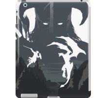 Skyrim Poster (white) iPad Case/Skin