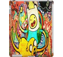 finn jake brush iPad Case/Skin