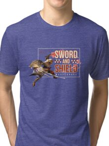 Sword and Shield Masterrace - Monster Hunter Generations Tri-blend T-Shirt