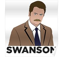 Ron Swanson! Poster