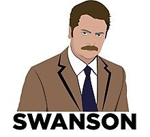 Ron Swanson! Photographic Print