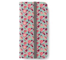 flat flowers iPhone Wallet/Case/Skin