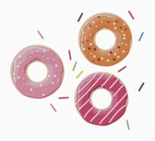 Donuts pattern 001 Baby Tee